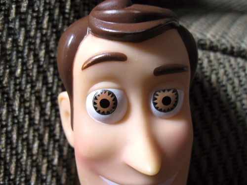 Woody, Up Close and Personal