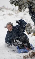 Snowy April Scenes-12 (Sergeant Matt) Tags: snow forest sussex snowy toboggan sledge ashdownforest ashdown
