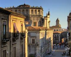 Via crociferi (Peppis) Tags: sicily hdr catania sicilia viacrociferi flickrsicilia xvigiornatafaidiprimavera siciliainhdr