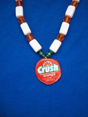 orange soda necklace (misc5anddime) Tags: orange necklace soda crush