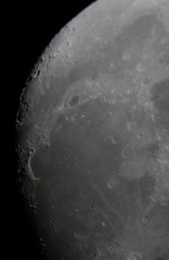 Lune (ComputerHotline) Tags: sky moon france mountains night lune space satellite crescent craters ciel crater astrophotography croissant quarter astronomy universe objet nuit digiscoping espace solarsystem fra belfort objets montagnes quartier gibbousmoon astronomie univers cratre franchecomte afocal sinusiridum astrophotographie cleste cratres astre digiscopie systmesolaire astres clestes lunegibbeuse golfedesiris