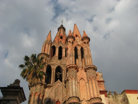 The Cathedral of San Miguel de Allende
