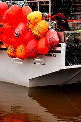 Buoys for lobster fishing (David Alston) Tags: buoyant