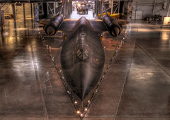 SR-71 Blackbird (Menetnasht) Tags: leica 3 black museum speed plane lumix virginia washington high dulles fighter martin space aircraft air jet 71 panasonic stealth hazy bomber lockheed sr blackbird tone sleek hdr sr71 digest mapped mach fz50 recon photomatix diamondclassphotographer flickrdiamond thechallengefactory fotocompetition fotocompetitionbronze