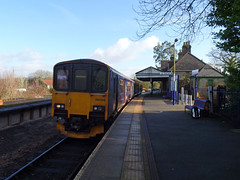 150108 Bere Alston (2) (Marky7890) Tags: gwr 150108 class150 sprinter 2g74 berealston railway train devon tamarvalleyline