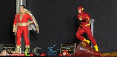 MezcoPreview_2017_4 (SkeletonPete) Tags: mezzotoyz actionfigures marvelcomics dccomics batman superman doctorstrange spaceghost one1217dc