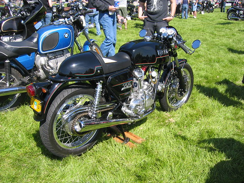 Vintage Ducati at OVM Vintage Motorcycle Show