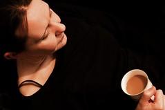 Nicola (Paul Scott Thomas) Tags: portrait woman abstract girl beautiful lady contrast nikon moody nicola tea drinking documentary d90 nikondslr abstractportrait nikond90 nicolaroderick