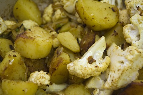 Potatoes And Cauliflower