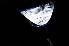 Reflection in the dark (Snidibap) Tags: party portrait money holland reflection eye netherlands beer beautiful festival night weird eyes technology god military lowlands spoon science tent freak psycho killer drugs excellent rocket weirdo groningen distinct pinkpop wegwerpcamera throwawaycamera boyzinthehood flyingtent snidibap