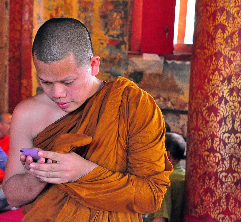 Buddhism Meets Technology