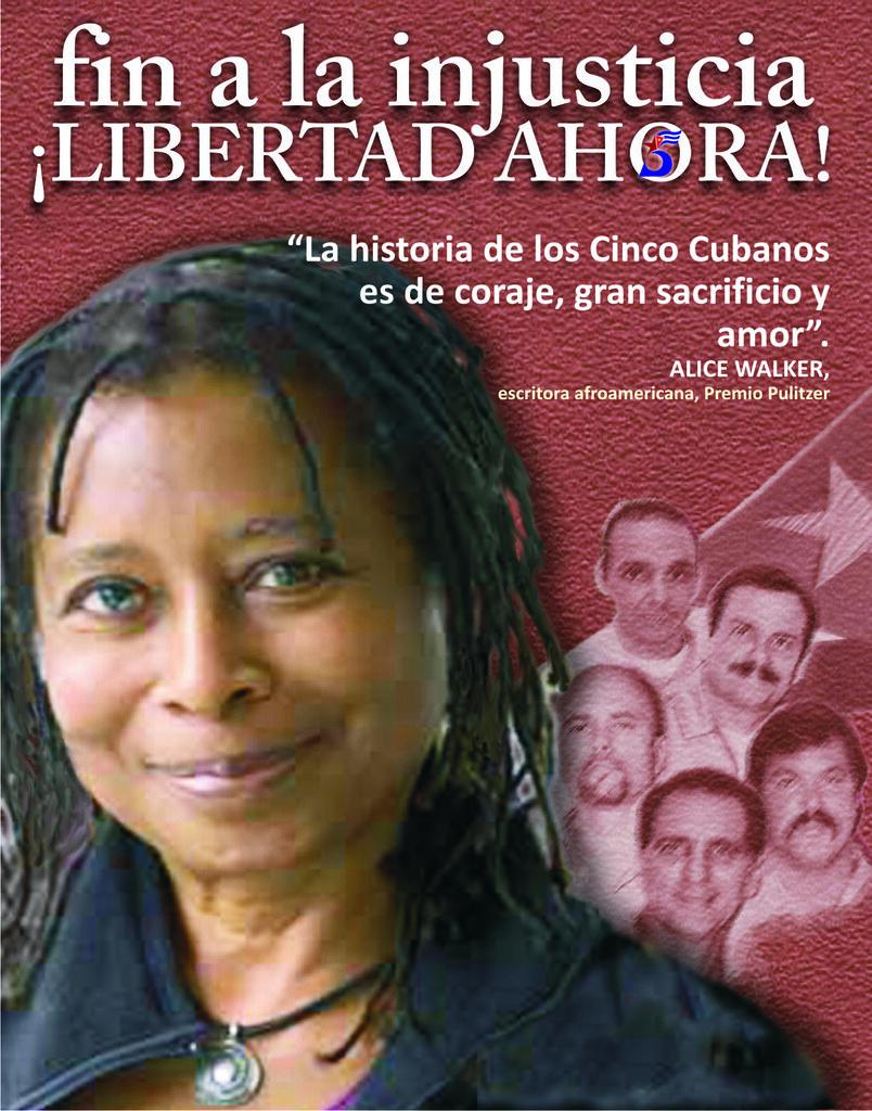 Alice walker escritora afroamericana premio pulitzer expo de carteles fin a la