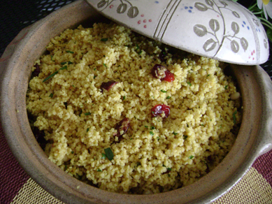 SAS I: curried couscous