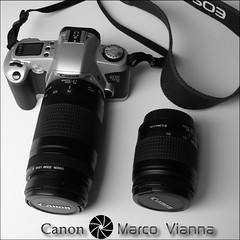 Canon EOS 500N Silver (m@tr) Tags: canon canoneos500n canoneos500nsilver canon2880mmf3556 mtr marcovianna camarareflexanalogica