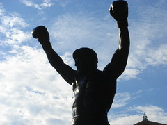Rocky Statue in Philly