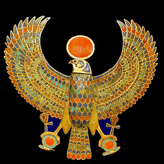 Bijou de la tombe de Toutânkhamon (musée du Caire / Egypte)