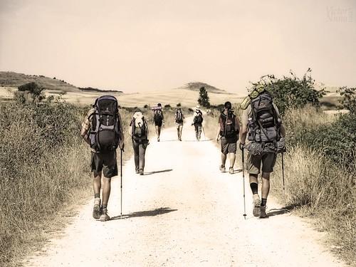 Nos vamos a hacer el Camino de Santiago