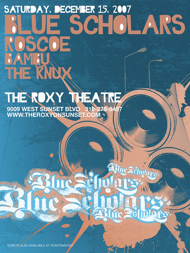 The Blue Scholars - 12/15