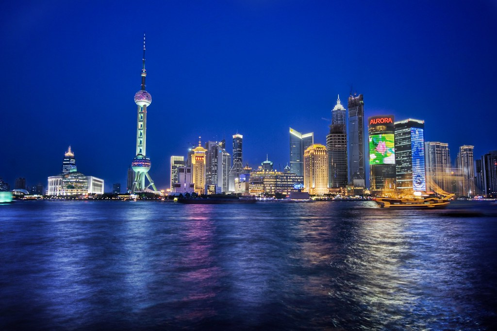 Summer Sky in Shanghai
