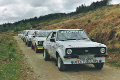 Lineup (RS Pictures) Tags: ford forest argyll stage rally mk2 escort motorsport lineup mkii foresry