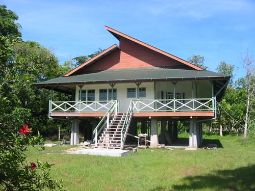 Een huis in Wanica
