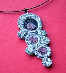 Blow More Bubbles Necklace - PCAGOE January Challenge