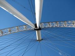 Up the eye. (Tetramesh) Tags: tetramesh london uk england londoneye geo:lat=515034 geo:lon=0119476 britain greatbritain unitedkingdom