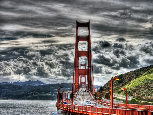 Golden Gate HDR by vgm8383.