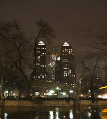 Zeckendorf Towers at night by tomdz, on Flickr