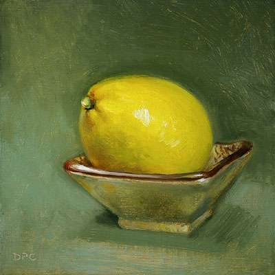 lemon and bowl