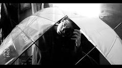 (Shemer) Tags: bw selfportrait umbrella self autoportrait nb shemer utata:description=hide utata:project=ip41  shimritabraham