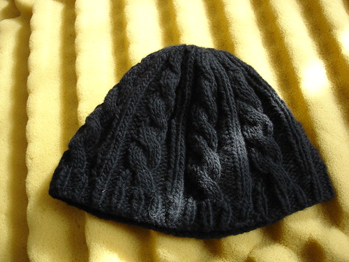 SNBN cabled hat
