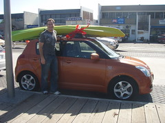 Kayak on the Swift