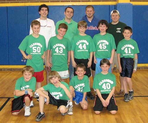 Peter's Basketball Team