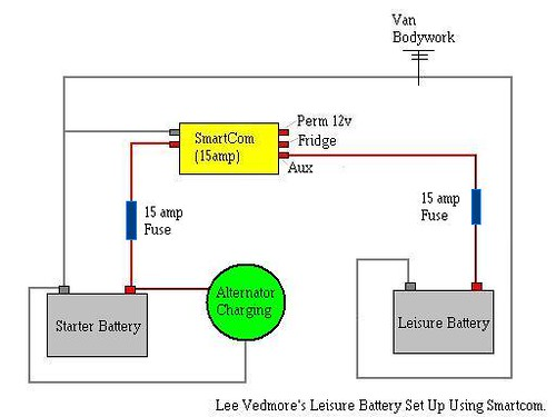 leisure battery charging system using smartcom [archive] vw t4 Freightliner Tail Light Diagram