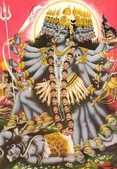 Dasmukhi Kali Ma (Ash_Patel) Tags: kali goddess mother divine hindu mata shakti devi kalka shyama pavagadh kalika kalighat kaali dasmukhi bhadrakali mahakali dakshineshwari