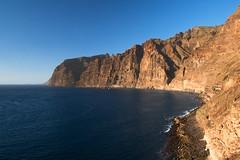 Los Gigantes, Tenerife (szeke) Tags: ocean blue mountain color water rock landscape spain place tenerife canaryislands losgigantes