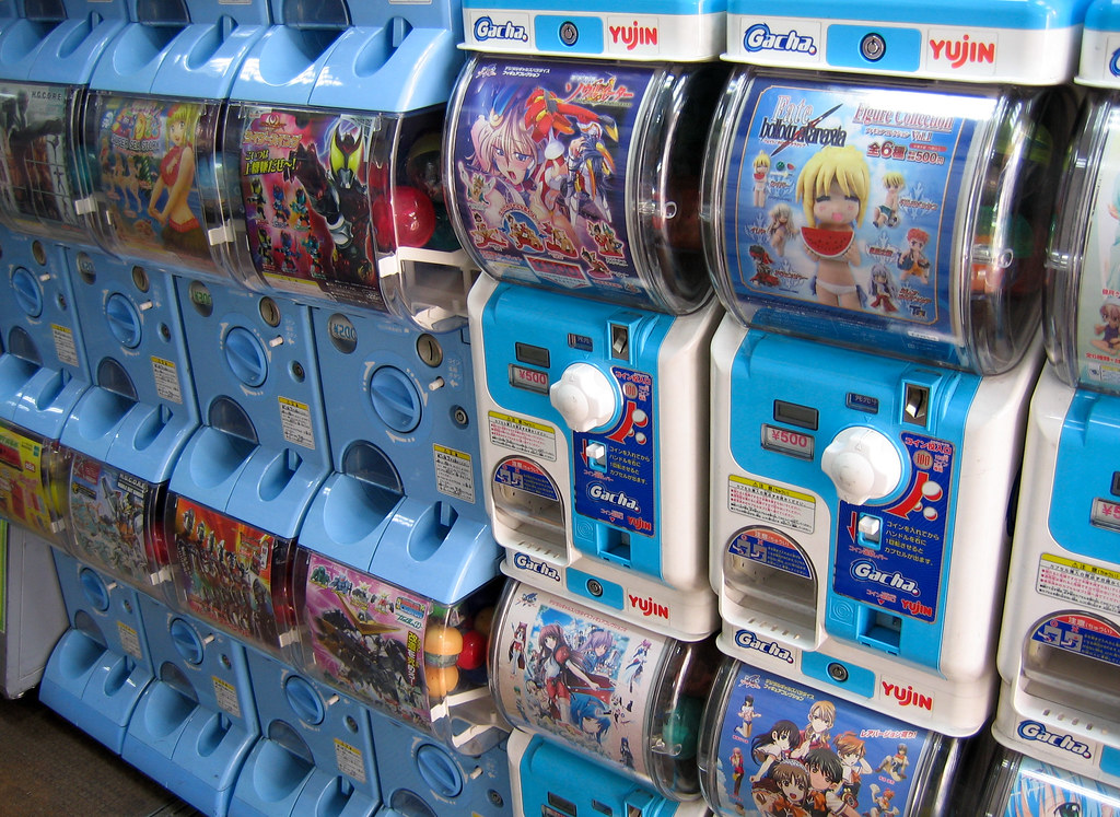 Fields of Gashapon