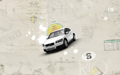 Ice White Volvo c30 Desktop (Gui Rio) Tags: desktop new wallpaper white art car illustration digital speed vintage silver design volvo graphic sweden style screen carro resolution sverige wallpapers cosmic macchina svenska c30 volvoc30 cosmicwhite volvoc30wallpaper volvoc30wallpapers volvoc30desktopwallpaper c30wallpaper c30wallpapers