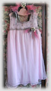 Pink Upcycled Fairy Princess Dress