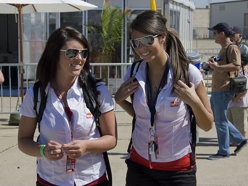 red bull girls. 10339 Red Bull girls