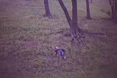 автопортрет 40й день (tomato_senya) Tags: trees selfportrait colour me bodylanguage 365ru