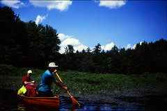 lake film rick canoe velvia strip cedar bj marsh canoeing nikonf3