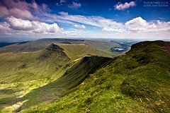 View from Pen-y-fan (Sean Bolton (no longer active)) Tags: cloud mountain grass wales landscape bravo cymru breconbeacons brecon penyfan dapa seanbolton dapagroup impressedbeauty visiongroup neuaddreservoir ffotocymrucouk absolutelystunningscapes vision100
