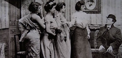 Bordello (~ Lone Wadi ~) Tags: prostitutes brothel bordello indoors candid client retro 1910s prostitution