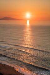 EFO_2552.jpg (edouardfourcade) Tags: basque france atlantic ocean sunset seascape beautiful evening orange light