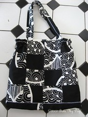Black & white bag front