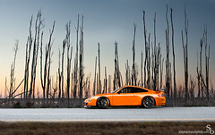 Sunset in the Everglades (Stephan Bauer) Tags: sunset orange exotic porsche bauer everglades stephan rs gt3 997