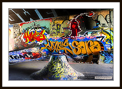 Leeside Skatepark (Clayton Perry Photoworks) Tags: park city canada wall vancouver canon graffiti ramp paint downtown bc britishcolumbia tag cement tunnel tagged skatepark skate tribute tagging hdr underthebridge inmemoryof taging leeside canonphotography leematasi leesideskatepark claytonperry