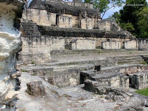 Acropolis at Tikal, Guatemala
